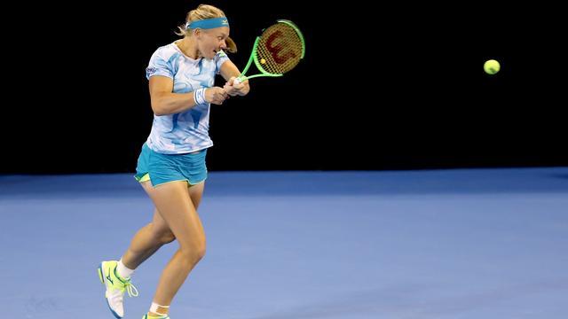 Bertens in Luxemburg weer eens ronde verder op WTA-toernooi