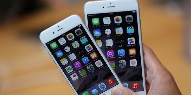 'Apple heeft tekort aan vervangende accu's iPhone 6 Plus'