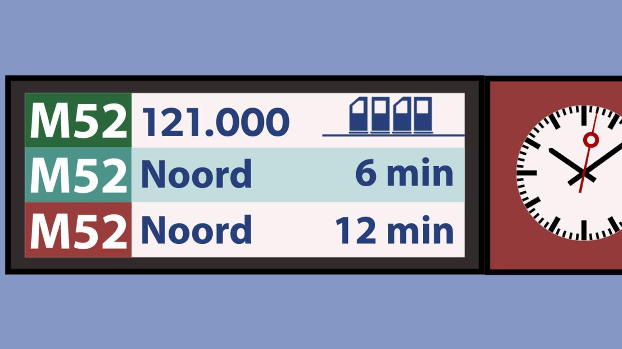 De Noord/Zuidlijn is af: De opvallendste cijfers