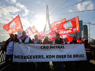 Medewerkers metaalsector gaan een dag lang niet werken