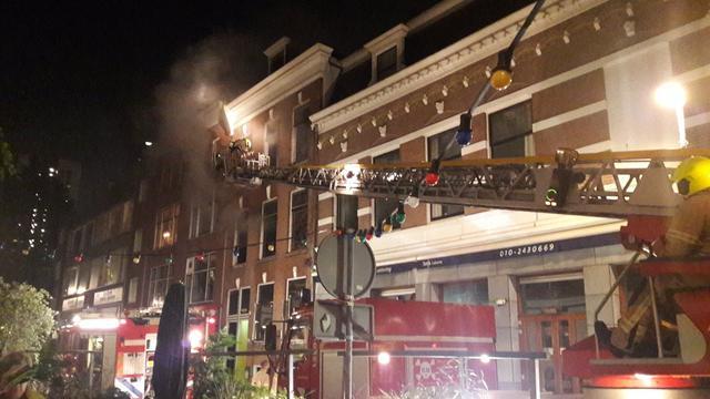 Rotterdams restaurant ontruimd vanwege brand