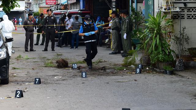 Thailand verdenkt man uit zuiden van land van aanslagen