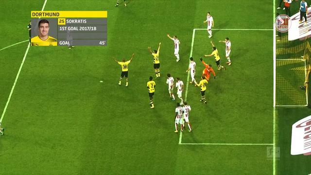 Het dubieuze doelpunt van Borussia Dortmund tegen FC Köln