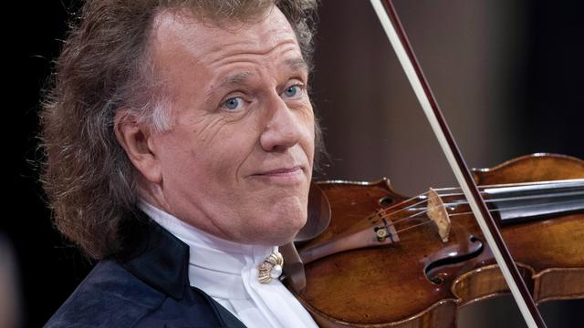 'André Rieu in top 100 meest succesvolle tournees'