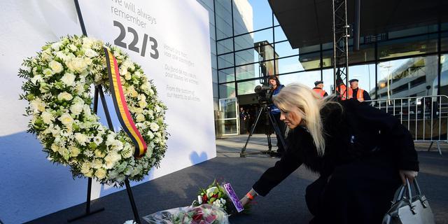Brussel herdenkt aanslagen op vliegveld en in metrostation