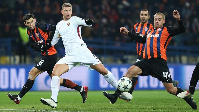 Samenvatting Shakhtar Donetsk-AS Roma (2-1)