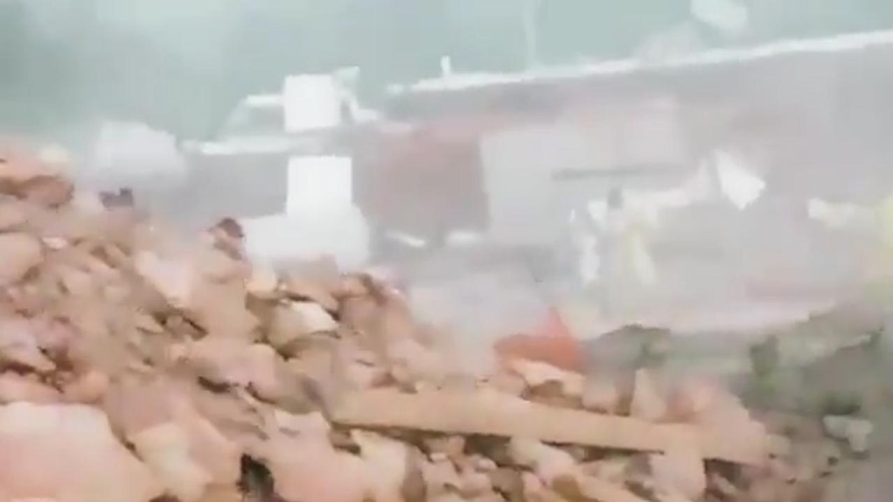Tornado zorgt voor schade en paniek op Ibiza