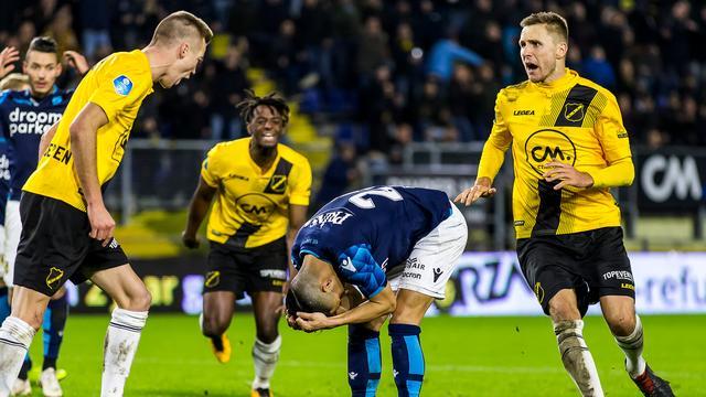 Mislukte 'panenka' tegen NAC 'nachtmerrie' voor Vitesse-speler Foor