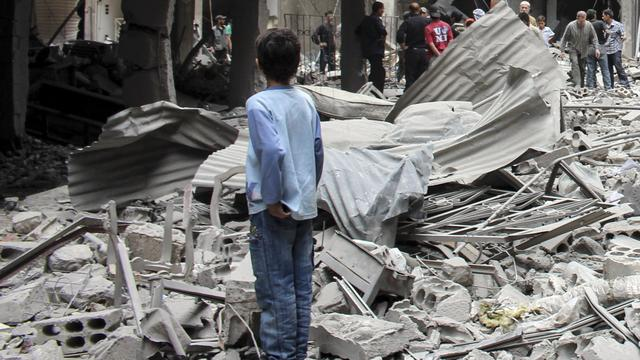 Tientallen burgers omgekomen in Syrië