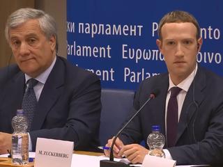 Facebook-directeur werd dinsdag gehoord in Europees Parlement
