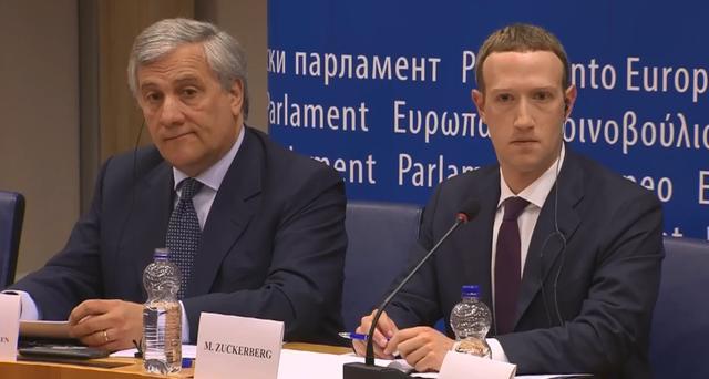 Belangrijke vragen uit het EU-verhoor van Mark Zuckerberg