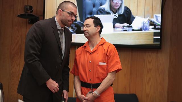 Topturnster Biles opgelucht na verklaring over Nassar in misbruikzaak