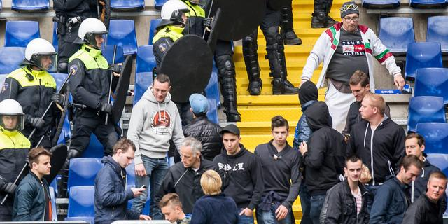Tien maanden cel Bredase voetbalsupporter voor degradatierellen