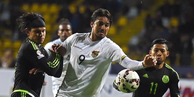 Doelpuntloos gelijkspel Mexico en Bolivia op Copa America