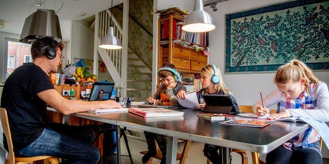 Fors meer Nederlanders verwachten te blijven thuiswerken na coronacrisis