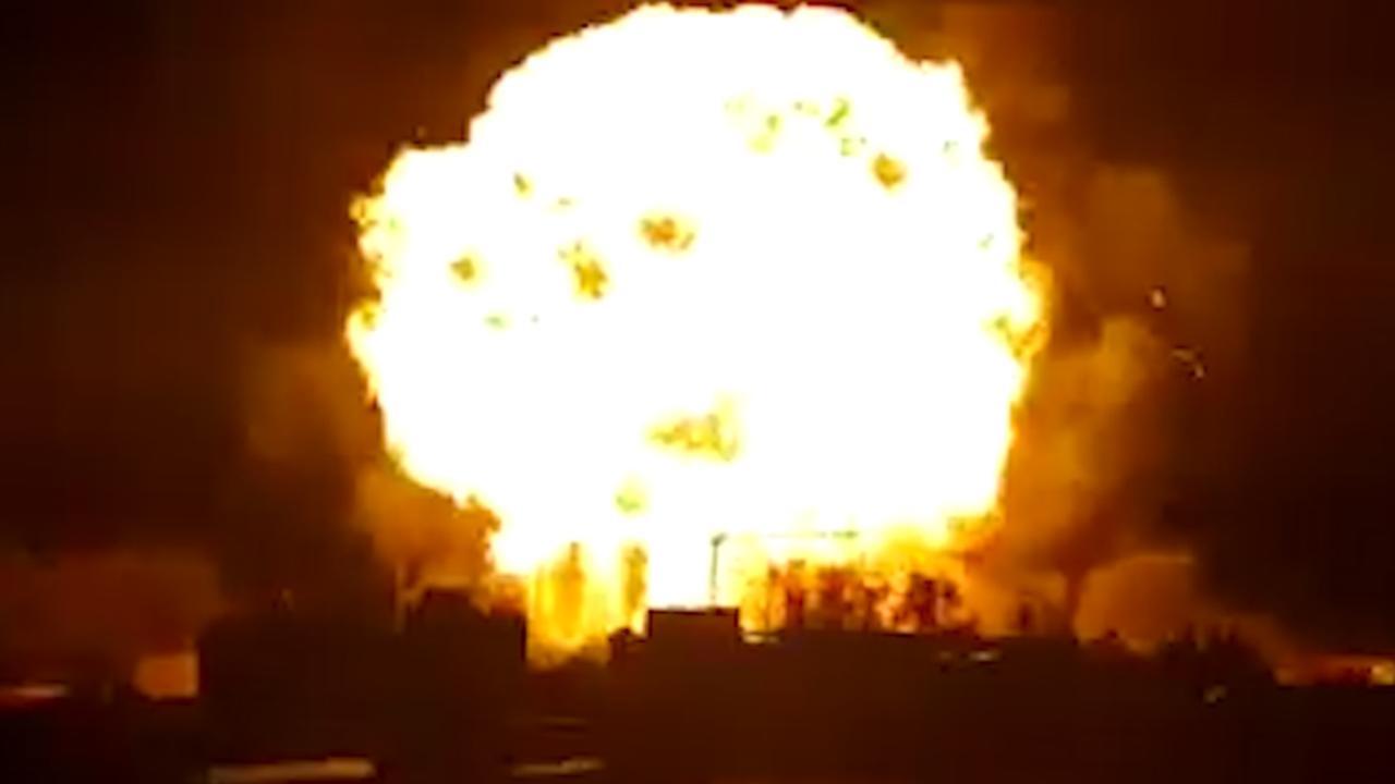 Enorme gasexplosie in Mexicaans warenhuis