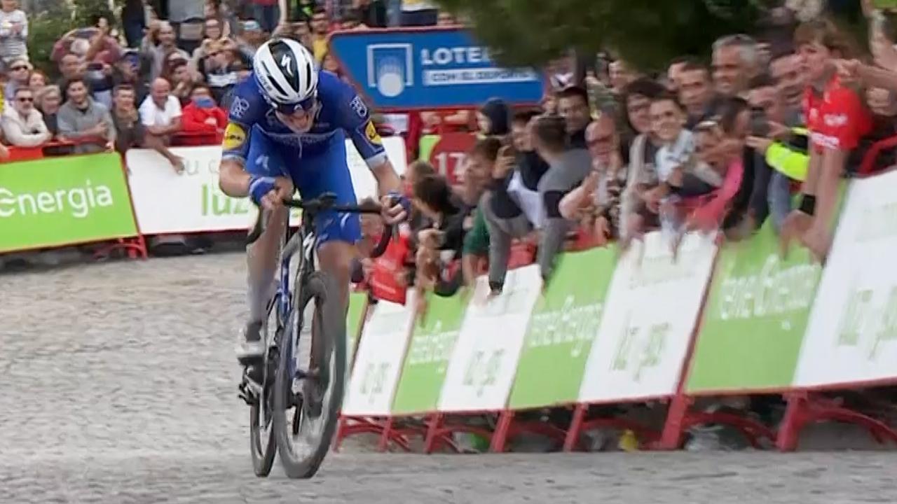 Cavagna soleert naar winst in negentiende etappe Vuelta