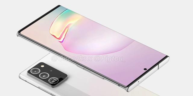 'Samsung maakt scherm van Galaxy Note 20+ weer iets groter'