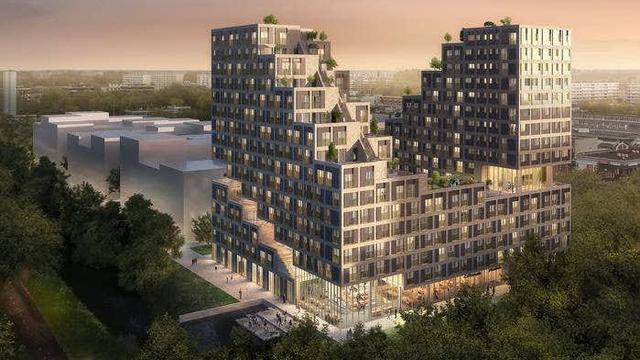 700 studentenwoningen en appartementen op NPD-strook Overvecht
