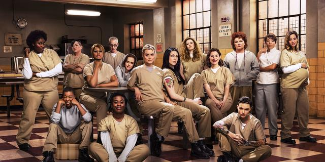 Cast Orange is the New Black vindt gevangenisserie 'bevrijdend'