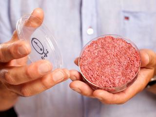 Bedrijf onthulde in 2013 voor het eerst een in het laboratorium gekweekte hamburger