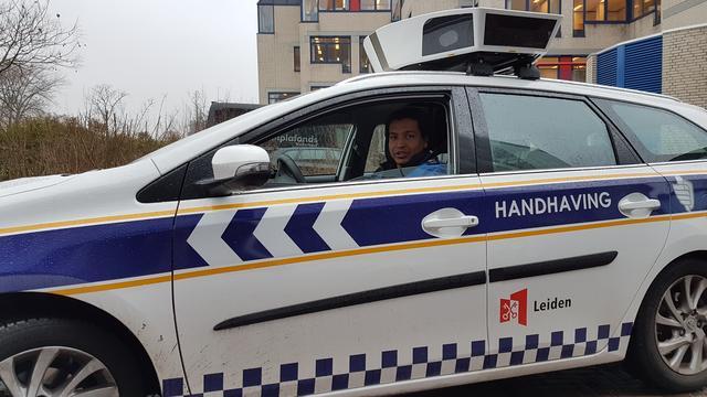 Scanauto bestrijkt dagelijks heel Leiden