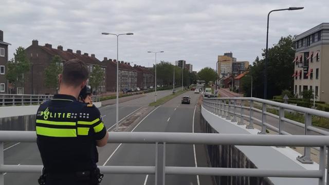 Politie schrijft 38 bekeuringen uit na lasercontroles in Leiden