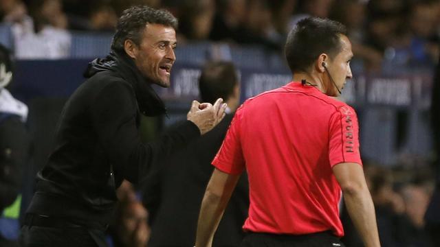 Barcelona-trainer Enrique haalt uit naar arbitrage na verlies bij Malaga