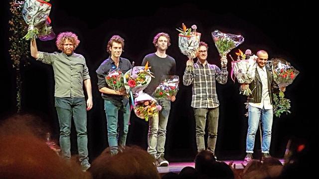 Farbod Moghaddam wint 40e editie Leids Cabaret Festival