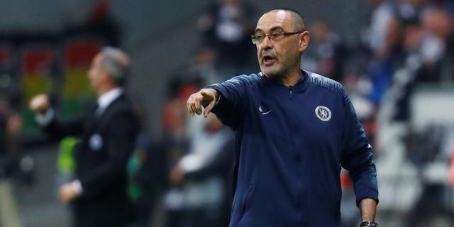 Coach Sarri verdedigt passeren Hazard en vindt dat Chelsea prijs verdient