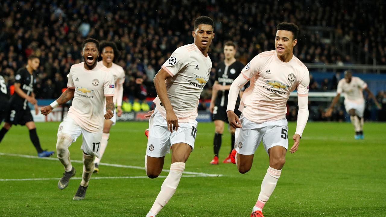 Rashford benut in blessuretijd strafschop voor United tegen PSG