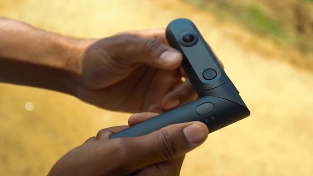 Handzame camera kan zowel 360 graden als 3D filmen