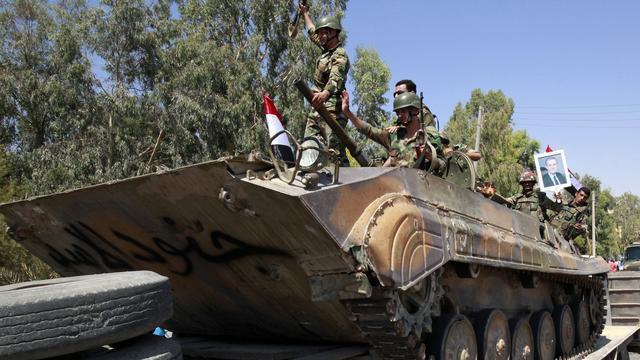 'Syrische leger verdrijft door VS gesteunde rebellen uit dorpen rond Eufraat'