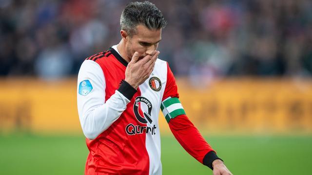 Feyenoord mist Van Persie ook tegen FC Groningen