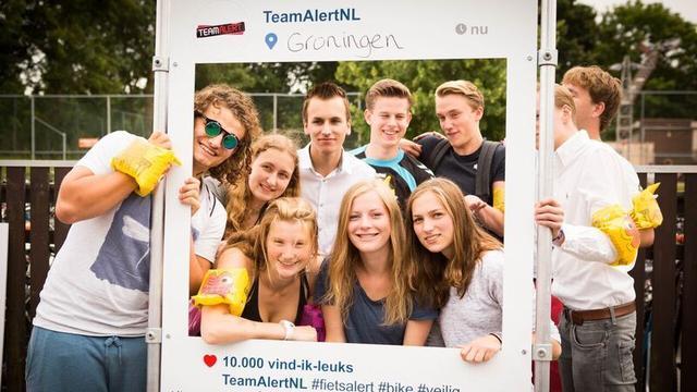Campagne moet fietsgedrag Groningse studenten verbeteren