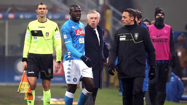 UEFA en FIFPro veroordelen racisme Inter-fans richting Senegalees Koulibaly
