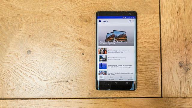 Review: Nokia 8 Sirocco weet zich niet genoeg te onderscheiden