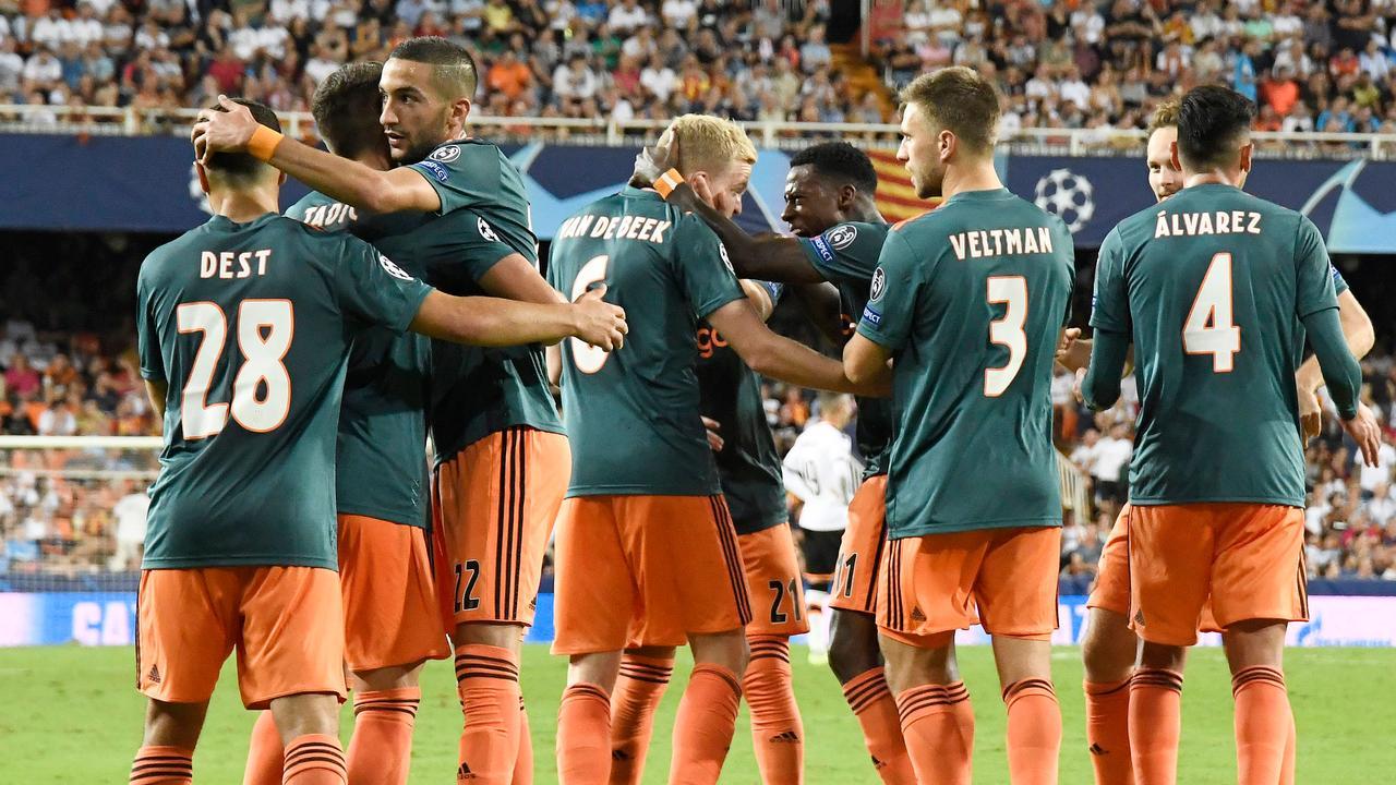 Samenvatting Valencia-Ajax (0-3)