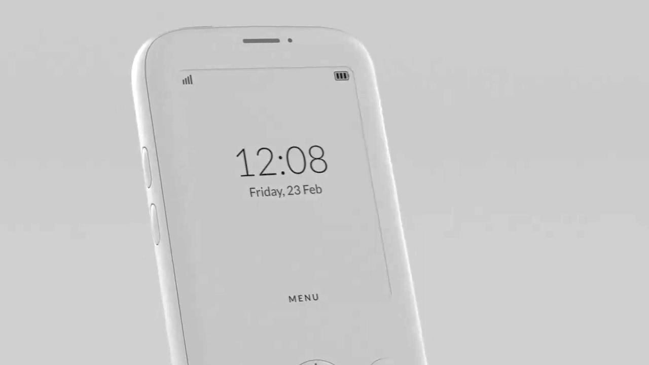 Minimalistische smartphone voor minder afleiding ontworpen