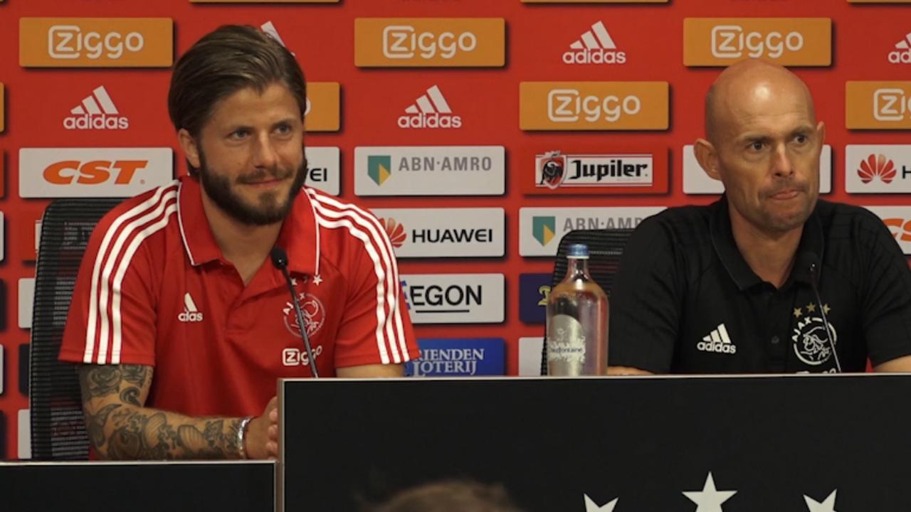 Lasse Schöne blij met 'hete adem' van jonge Ajax-talenten