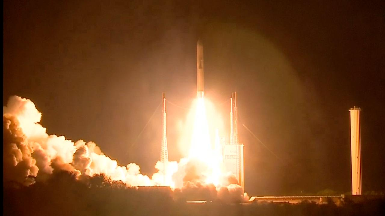 ESA lanceert raket in richting van Mercurius