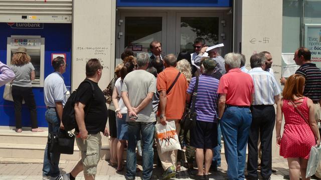 Griekse banken blijven deze week dicht
