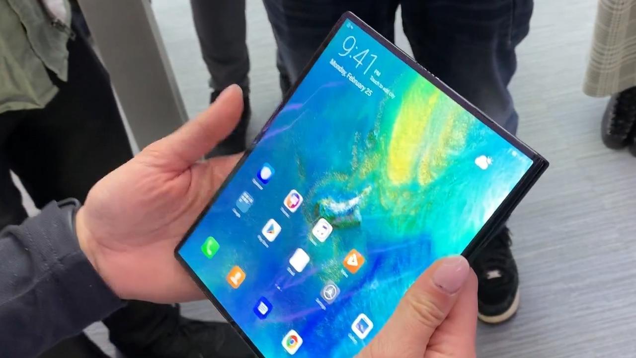 Huawei presenteert opvouwbare telefoon Mate X