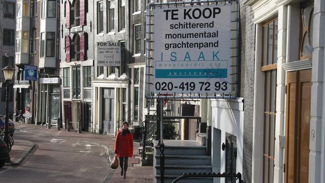 Huizenprijzen in Amsterdam opnieuw gestegen