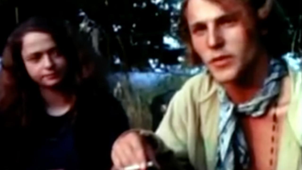 Beelden van festival Woodstock in 1969