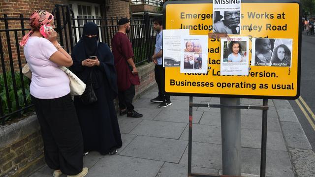 'Nog zeker 65 mensen vermist na brand in woontoren Londen'