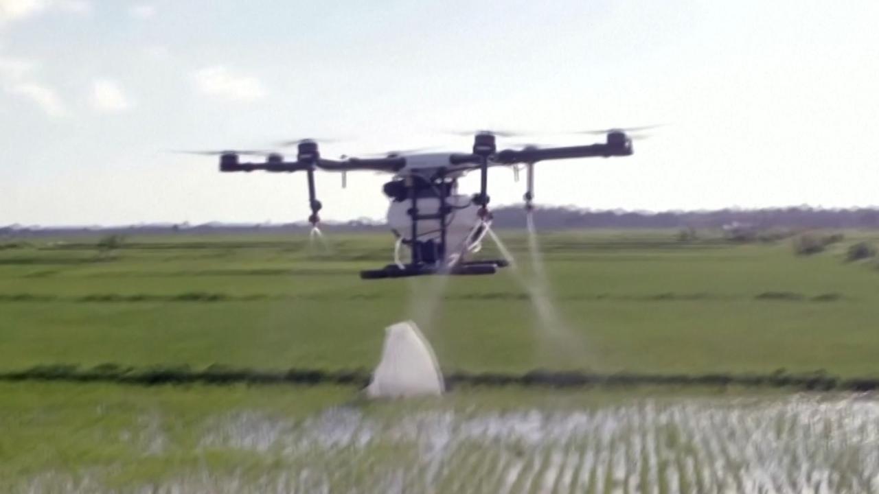 Drones bestrijden malariamuggen in Zanzibar