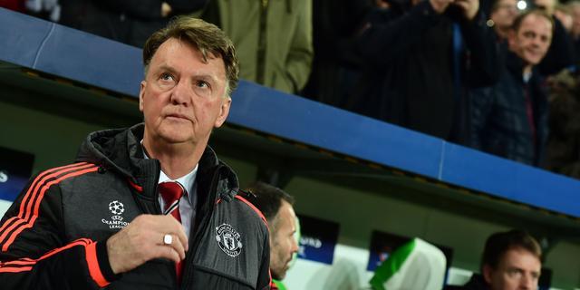 Van Gaal ontgoocheld na uitschakeling met United in Champions League
