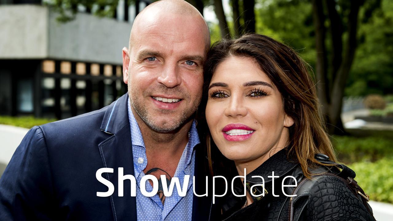 Show Update: Andy en Melisa van der Meijde genieten van winterzon