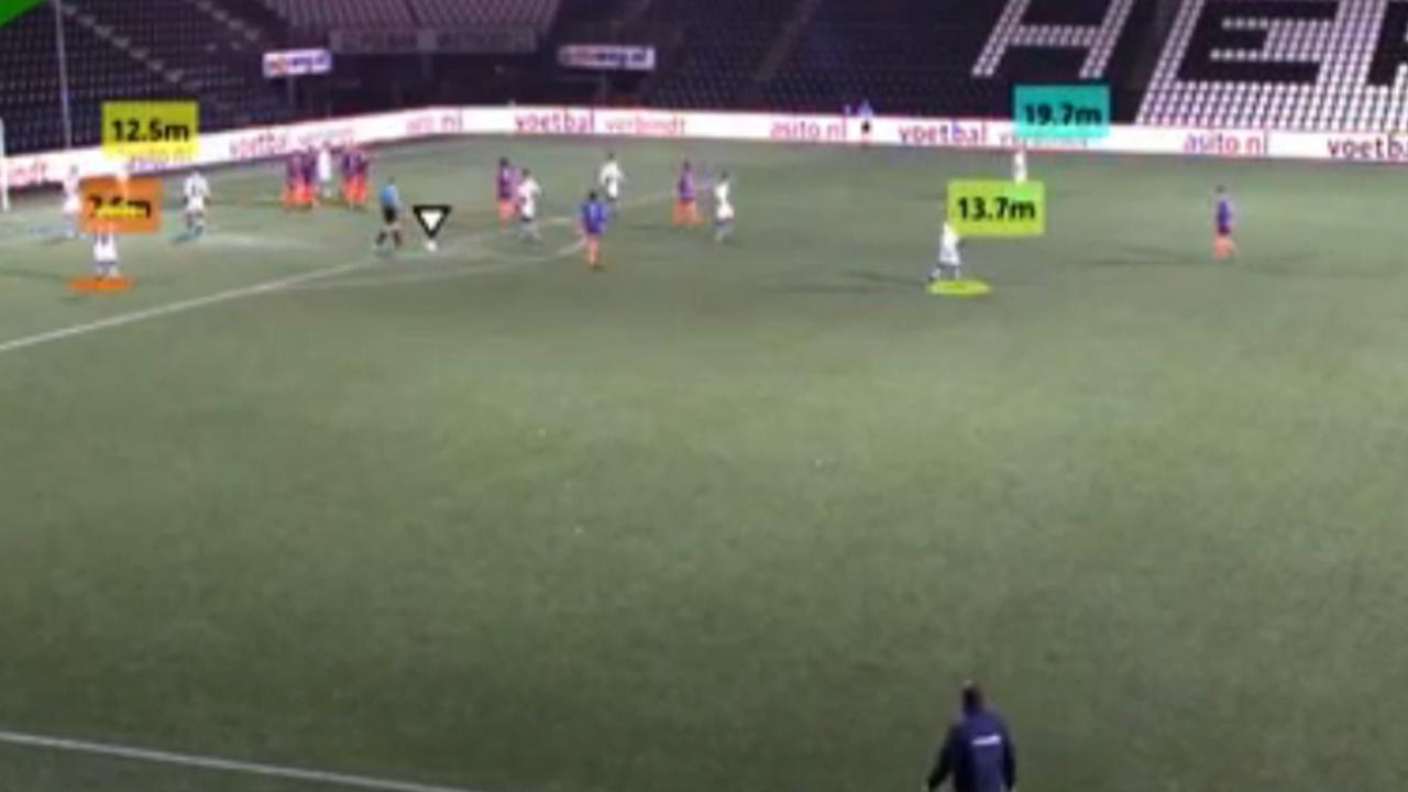 Voetbalscanner maakt van wedstrijden 3d-games